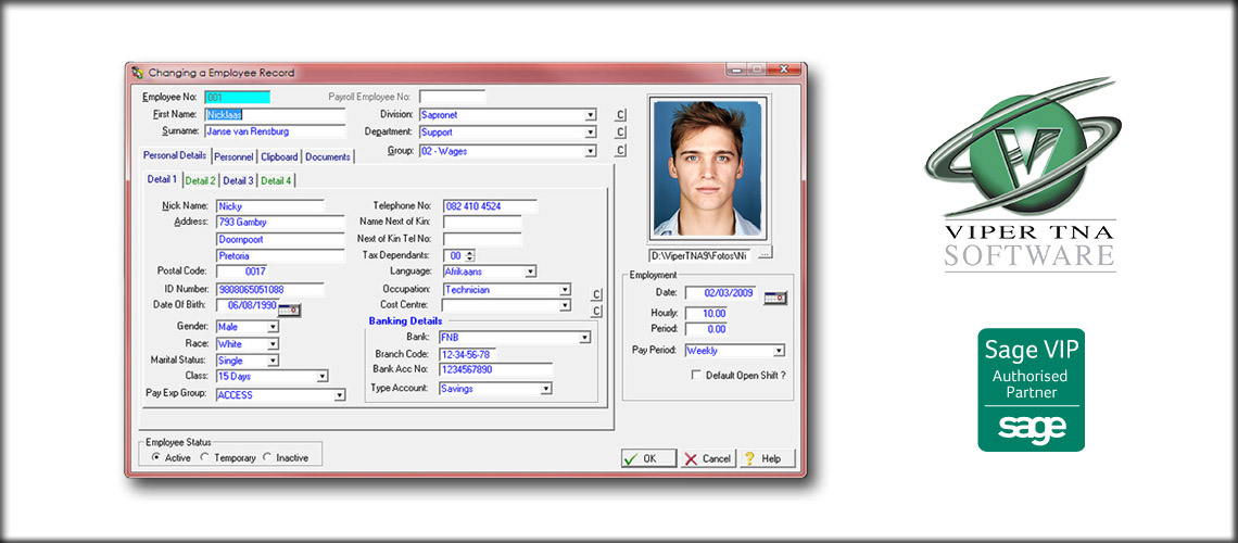 Time and Attendance Solution Software